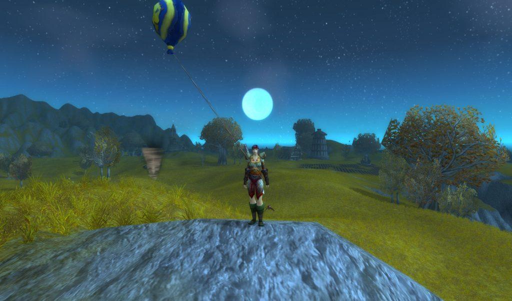 那世界的月光